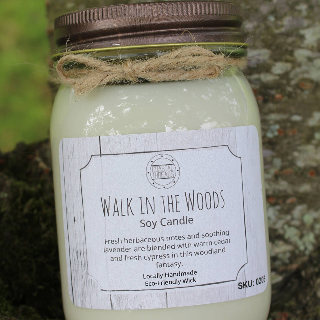 Walk In The Woods Soy Candle