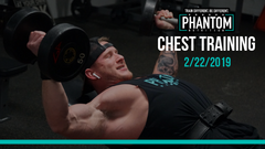 Chest Training | 2/22/2019