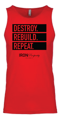 Destroy. Rebuild. Repeat. Tank