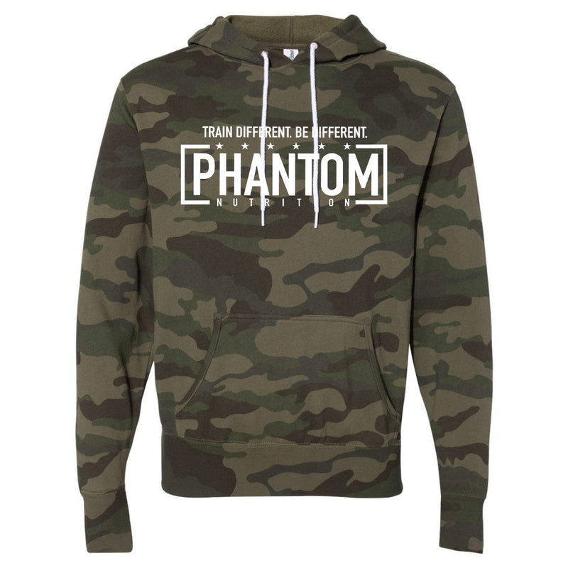 Phantom Camo Hooded Pullover