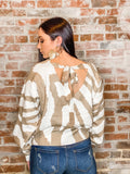 Santa Fe Sun Cropped Sweater