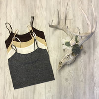 Regular Length Spaghetti Strap Cami