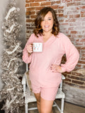 Dottie Loungewear Sets-CURVY