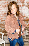 Oh By The Way Corduroy Jacket-CURVY