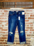 Charmaine Mid Rise Straight Denim