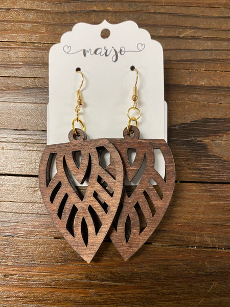 Marjo Wood Earrings