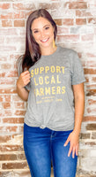 Support Local Farmers & Drink Local Tee