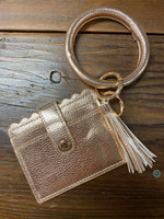 Key Ring Wallet Bangle