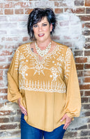 Harvest Blessings Top-CURVY