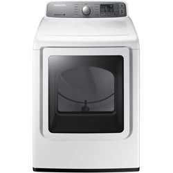 SAMSUNG 7.4 cu.ft Electric Top-Load Dryer DV45H7200EW, ONLY PICK-UP at Samtack