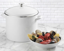 Cuisinart 20QT Stockpot White-New