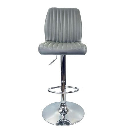 Retail Plus Avalon Grey Barstool 1PC