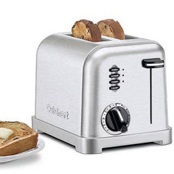Cuisinart BRSHD Metal 2SL Toaster CPT160-Refurbished, ONLY PICK-UP at Samtack