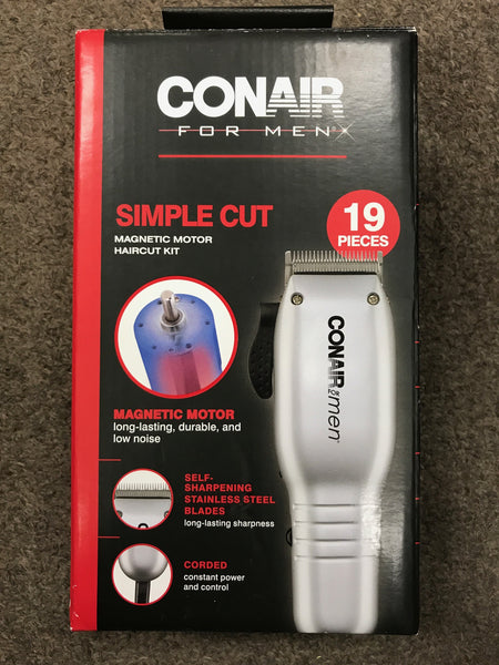 CONAIR 19PC HAIRCUT KIT HC119ACTC