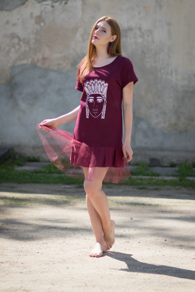 TSHIRT dress. custom