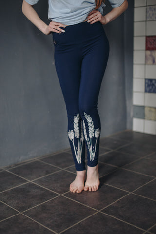 LEGGINGS. LAUKI (COUNTRYSIDE) Dark blue