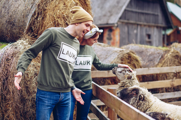MEN'S SWEATSHIRT. LAUKI (COUNTRYSIDE)