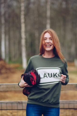 WOMEN'S SWEATSHIRT. LAUKI (COUNTRYSIDE)