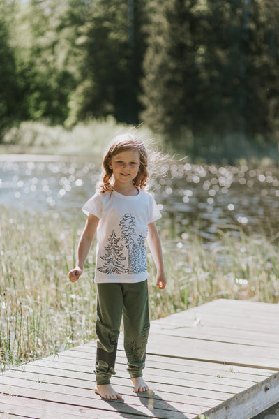TSHIRT in the WOODS,  for girls
