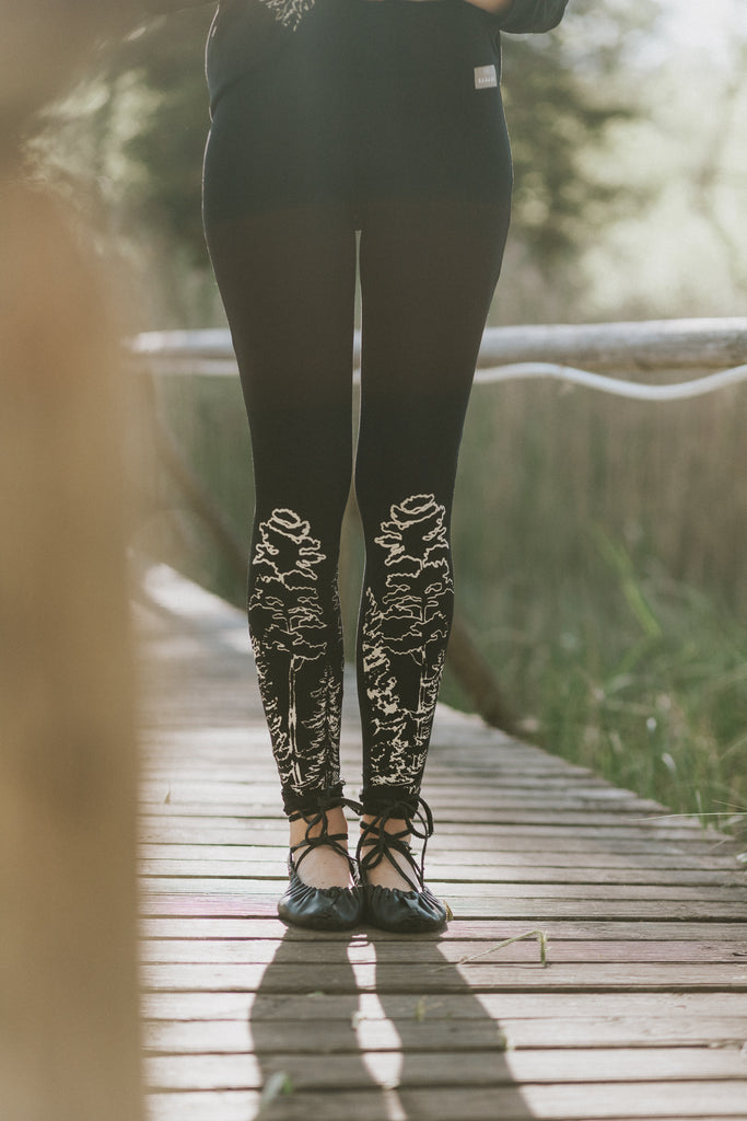 Leggings in the WOODS , 4 colors