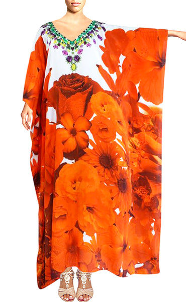 Orange Kaftan beautiful rose. French Bouquet