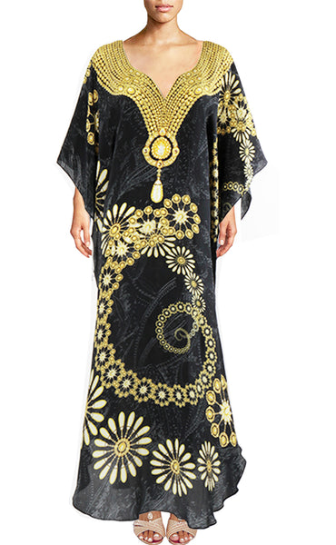 Dress gold jewels.Black Diamond
