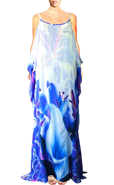 Dress Alluring Iris Flowers. La Vie est Belle