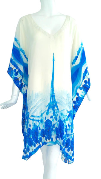 Top in silk. Petit Paris
