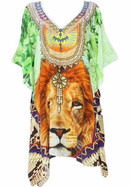 Short Kaftan lion jade . King