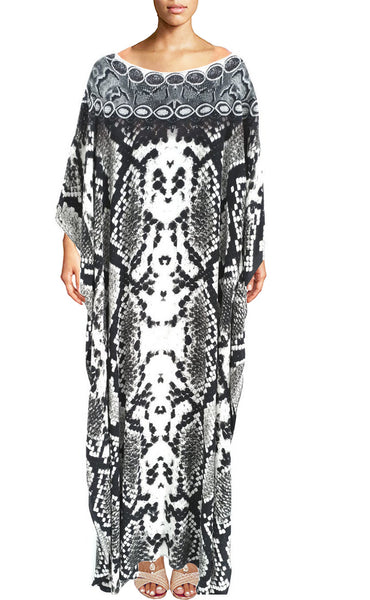 SOLD OUT Pre-Order 3 Weeks. Caftan Silver Python skin. Silver python