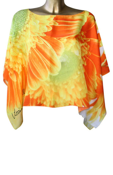 Tunic - Orange Daisy