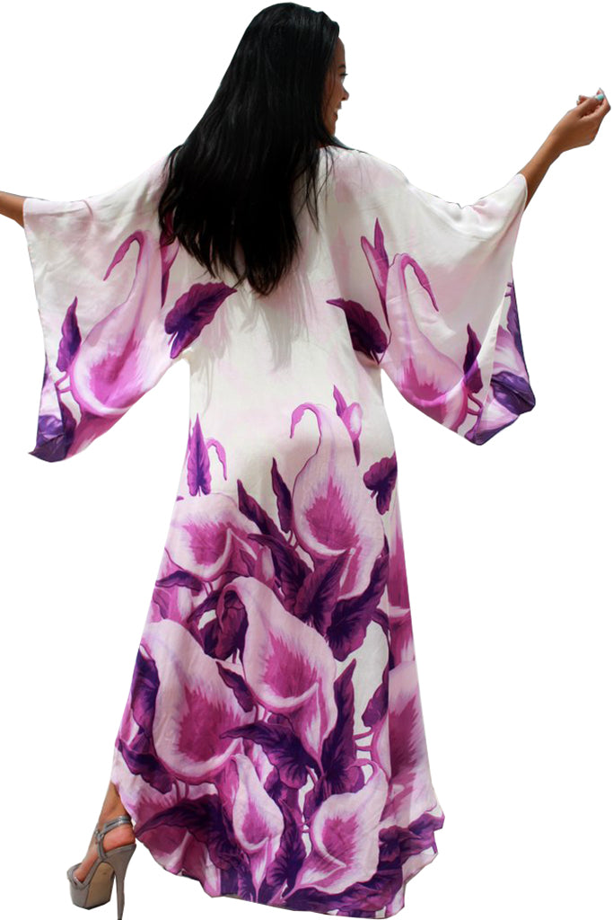 Dress Alluring Iris Flowers. La Parisienne