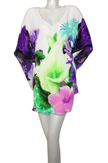 tunic with flowers. Belle de jour
