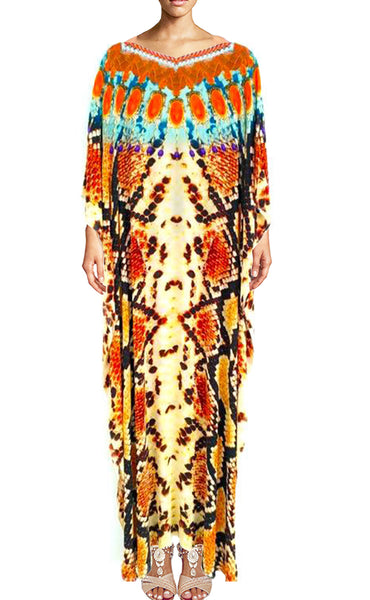 SOLD OUT Pre-Order 3 Weeks. Kaftan python skin. Orange Python
