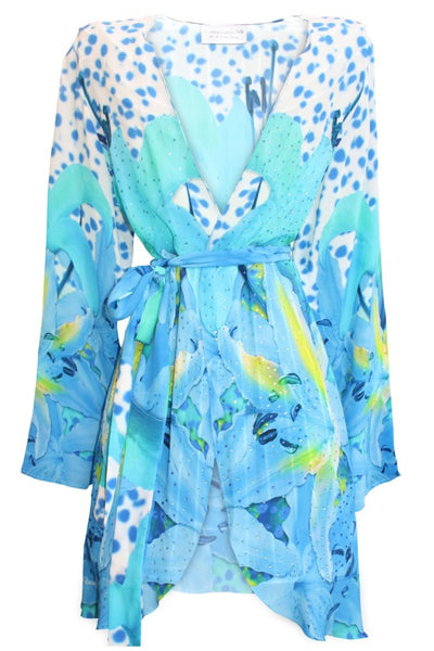 Kimono Coverup w/ Belt. French Lover