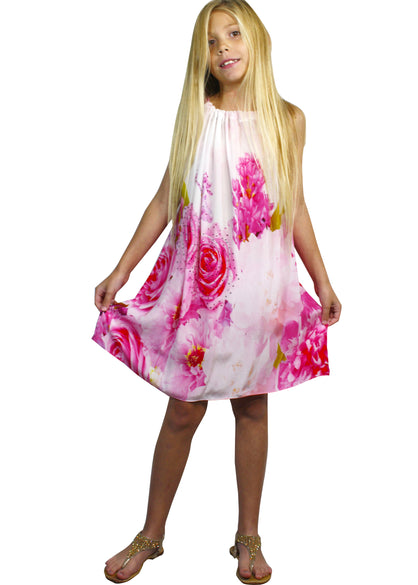Girls floral dress . Je taime a la folie
