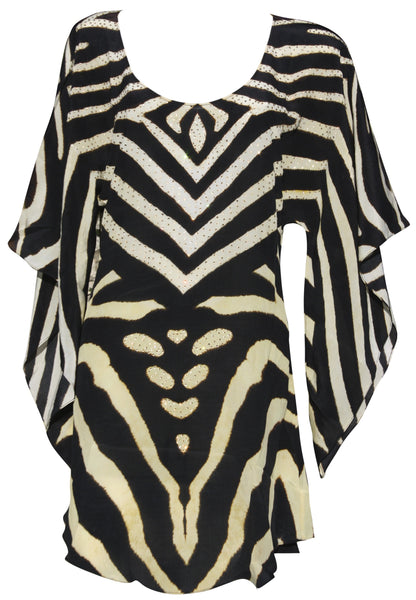 SOLD OUT Pre-Order 3 Weeks. Top zebra print. Zebra