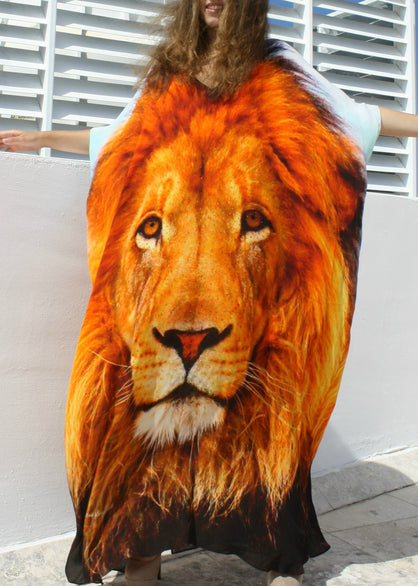Lion Kaftan Gold King