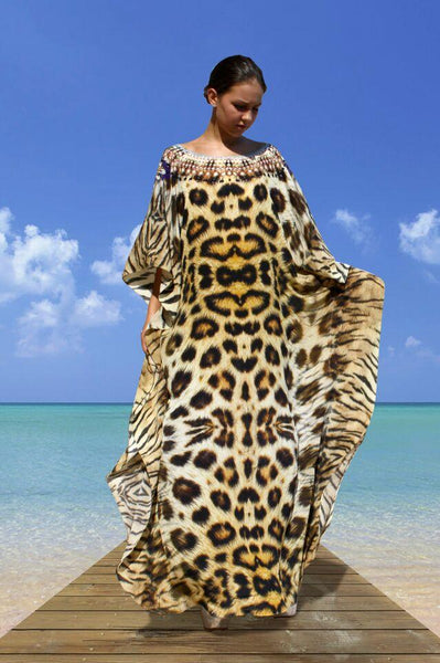 SOLD OUT Pre-Order 3 Weeks. kaftan leopard print. Africa Queen