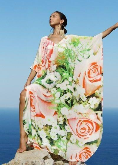 Kaftan roses. French Roses