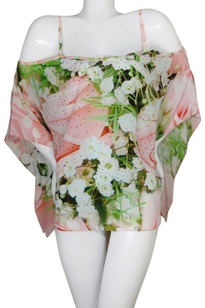 Top multiway to wear. French Roses