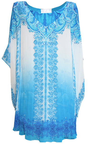 Mini Dress short kaftan. French Lady