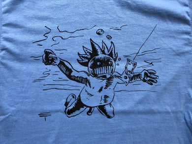 Ween|Boognish Nevermind by Eli Trujillo|T Shirt