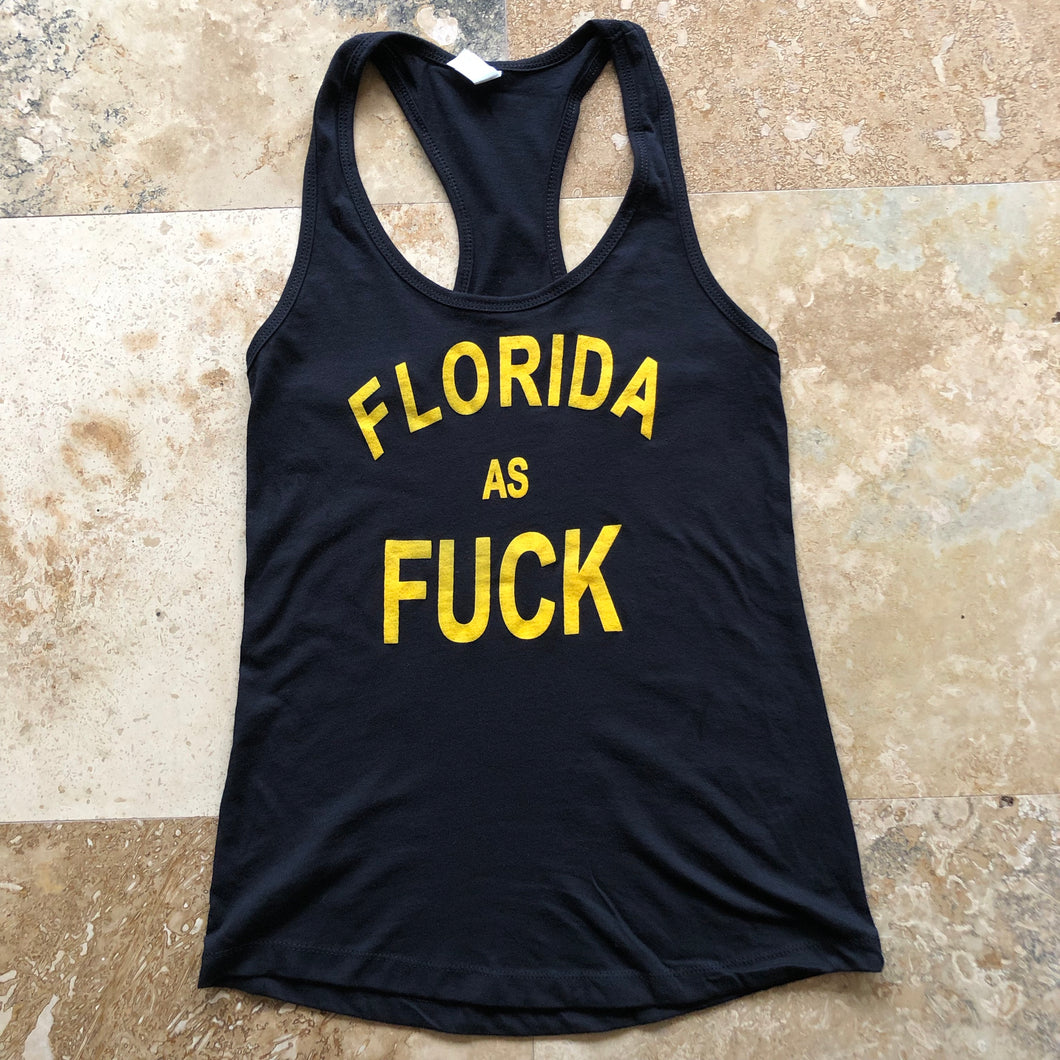 Florida as Fuck|Women's Racerback Tanktop