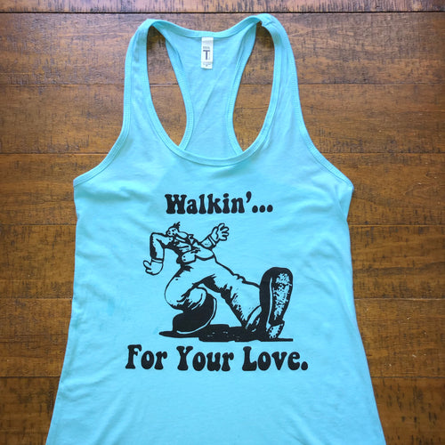 Widespread Panic|Walkin'|Women's Racerback Tank Top