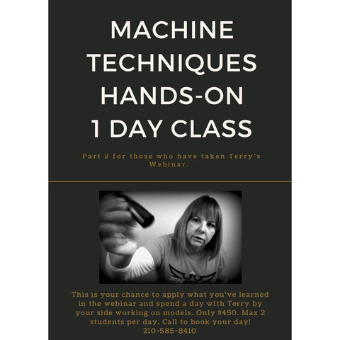 Machine Techniques - Part 2 - Hands-On Class in San Antonio, TX