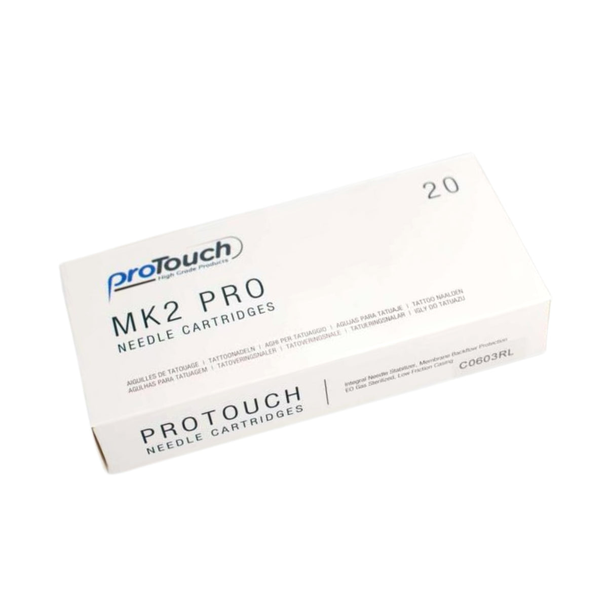 ProTouch M2K Needle Cartridges - 20 Per Box