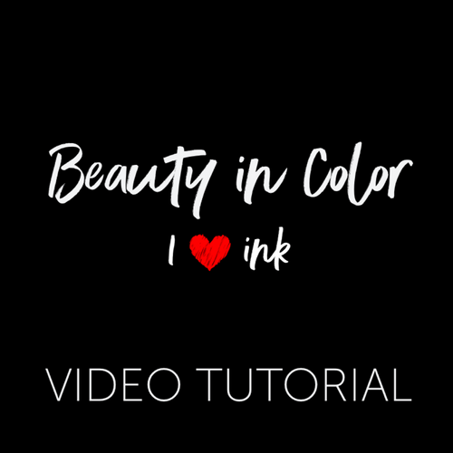 I Love Ink Color Course Video Tutorial