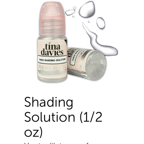 Shading Solution - Tina Davies - Thick