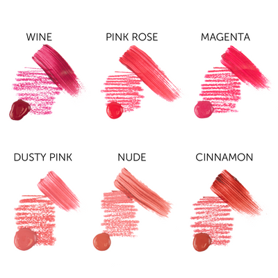 I Love Ink Lip Blush/Stain Sets - Try It + Blush It ! Envy Collection